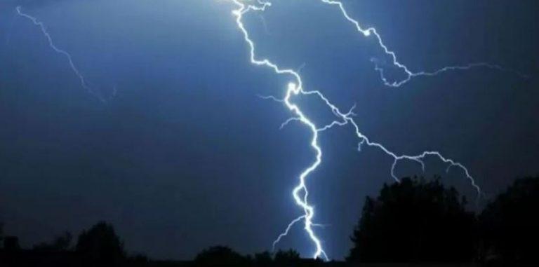 Emiten aviso por probables tormentas eléctricas en cinco regiones del país