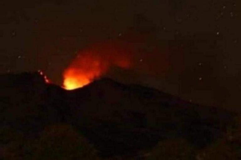 Informan incandescencia en el volcán Copahue de Alto Biobío