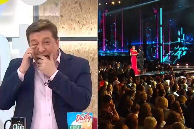 "JC estalla en risa tras recordar un momento en Viña: ""La hue… charcha"""