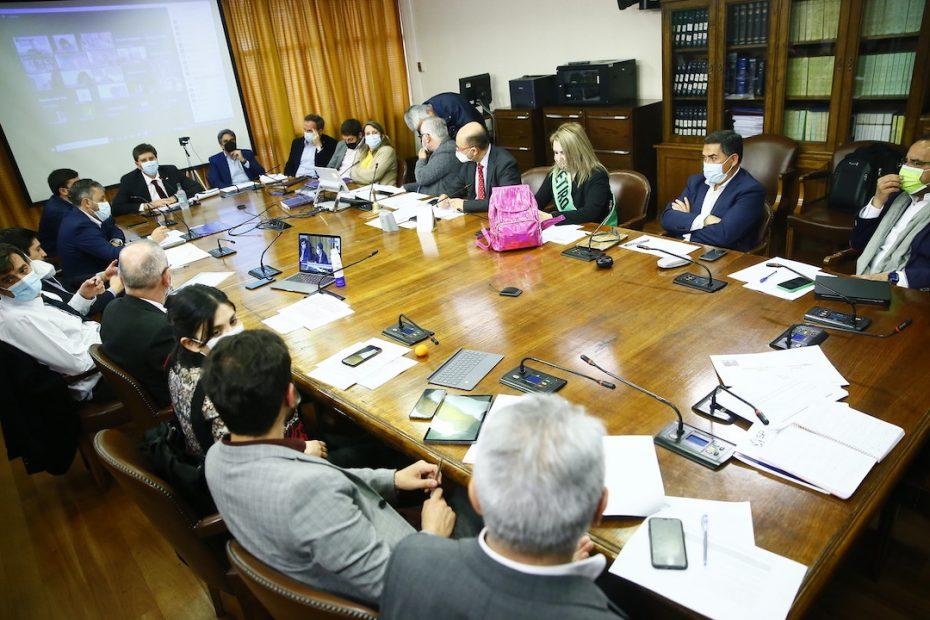 comisión de constitución cuarto retiro