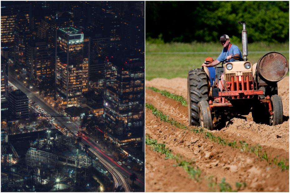 ine estadisticas 100% urbanas y rurales