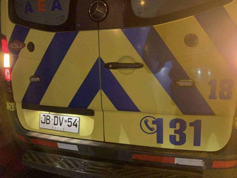 Conductor ebrio protagoniza volcamiento en Quilleco: Copiloto lesionado