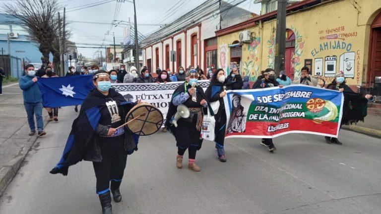 Día de la Mujer Indígena reunió a decenas de personas en Los Ángeles