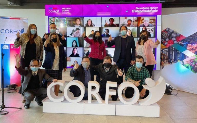 Revisa: Corfo abre 1.400 becas de especialización digital