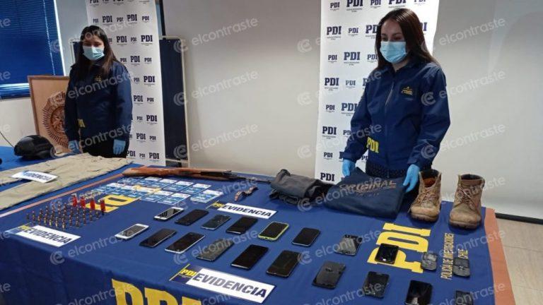 Falsos PDI que robaban camiones son detenidos por policías de Los Ángeles