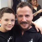 «El me eligió como papá» Gonzalo Egas llevó al hijo de Wilma Gonzalez a su primer día de clases