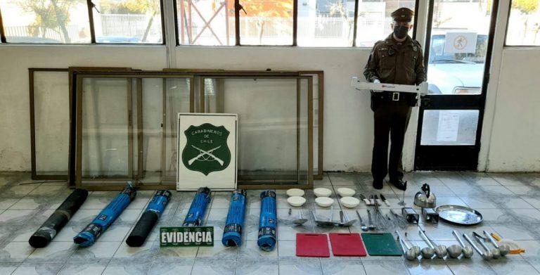 Dos detenidos por robo en jardín infantil de Yumbel