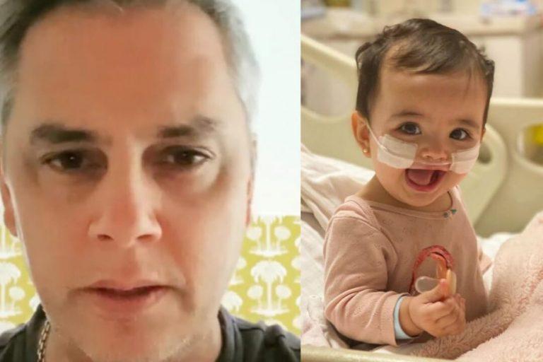 José Miguel Viñuela actualiza el estado de salud de su pequeña hija