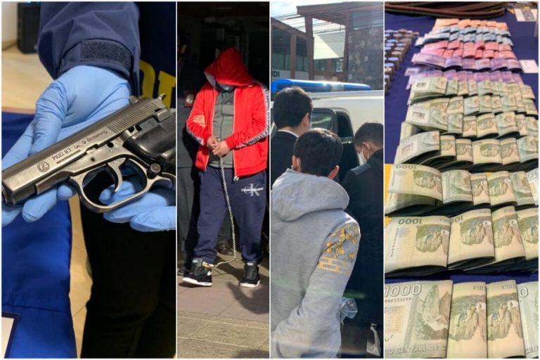 Magno operativo dejó 8 detenidos de alta peligrosidad en Los Ángeles