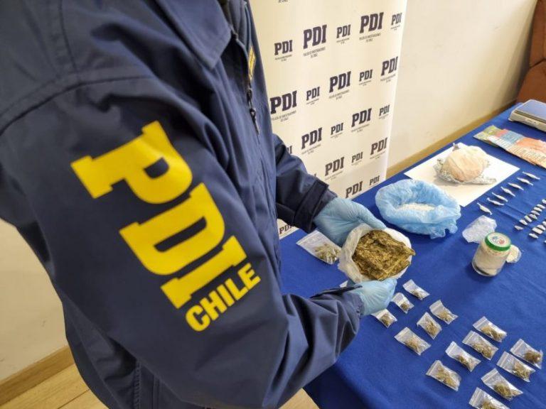 Operación Kayser: PDI de Los Ángeles desbarata red de tráfico de drogas