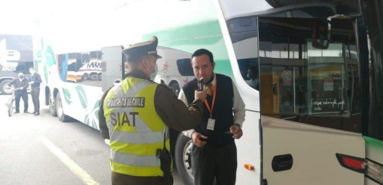 SIAT Biobío: ningún conductor buses ha sido encontrado con alcohol