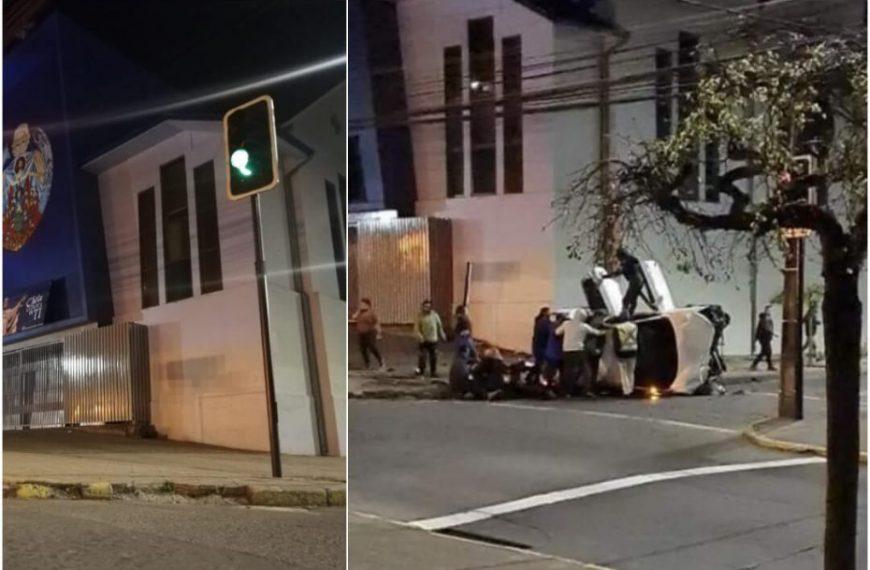 ¿Cuánto cuesta chocar un semáforo?