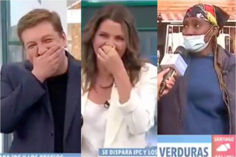 «El p… chico»: El hilarante chascarro en vivo con entrevistada en CHV