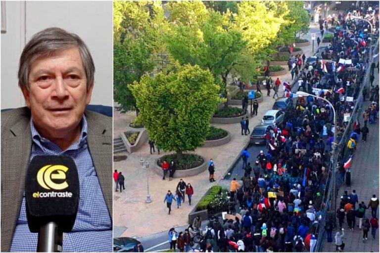 Comercio de Los Ángeles y marchas del 18O: «pedimos de corazón que lo hagan en paz»