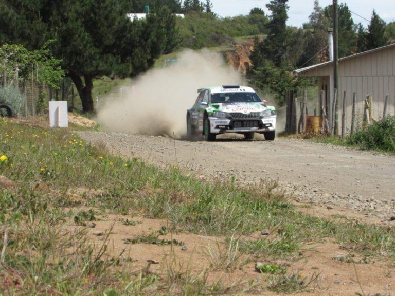Jorge Martínez y Alberto Álvarez ganan el Copec RallyMobil de Quillón