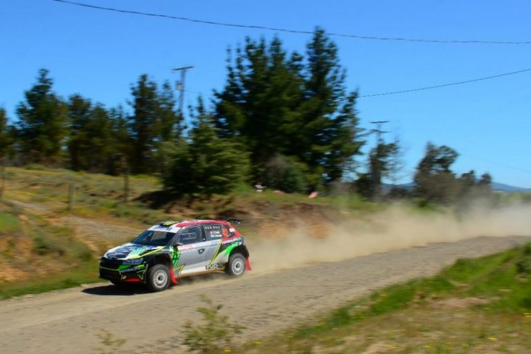 Fuchs fue el más rápido en el Shakedown del viernes en el RallyMobil de Quillón